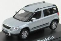 1:43 Škoda Yeti (кроссовер 4х4) 2009 Light Blue Metallic