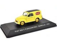 """1:43 FIAT 500 C FURGONCINO """"BARILLA"""" 1951 Yellow"""
