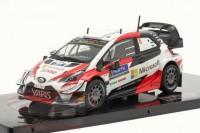 "1:43 TOYOTA Yaris WRC #8 ""Microsoft"" Tänak/Järveoja победитель Rally Finland 2019"
