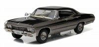 "1:18 Chevrolet Impala Sport Sedan 1967 Black Chrome (из телесериала ""Сверхъестественное"")"
