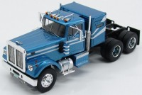 1:43 седельный тягач WHITE ROAD BOSS 1977 Metallic Blue/White