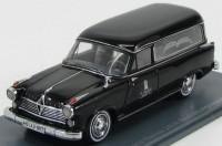 1:43 BORGWARD Hansa 2400 Rappold Hearses (катафалк) 1955 Black