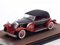1:43 ROLLS ROYCE Phantom II Brewster Newmarket Permanent Sport Sedan (закрытый) 1932 Black/Red