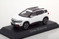 1:43 CITROEN C5 Aircross (кроссовер) 2018 Pearl White & Red Deco