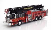 "1:43 SMEAL Spartan Gladiator 105' RM Ladder ""Huntersville Fire Department"" (пожарная лестница) 2014"