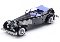 1:18 Duesenberg SJ Town Car Chassis 2405 by Rollson for Mr. Rudolf Bauer 1937 (с поднятыми окнами)