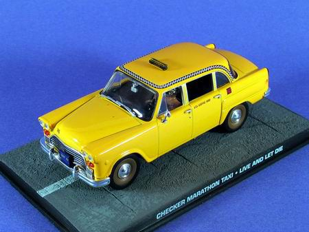 "1:43 Checker Marathon Taxi из к.ф. ""Live And Let Die"" 1973"