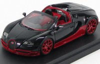 1:43 Bugatti Veyron 16.4 Grand Sport Vitesse (schwarz / rot)