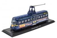 1:76 трамвай Railcoach (Brush) Blackpool Brush Tram 1937 Blue
