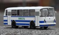 1:43 ЛАЗ-695Н бело-голубой