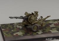 1:43 Зенитная установка ЗУ-23-2 (хаки)