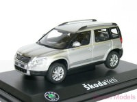 1:43 Škoda Yeti (кроссовер 4х4) 2009 Silver Brilliant Metallic
