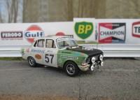 1:43 MOSKVITCH 412 Circuit de Spa – Francorchamps, Belgium. 24 Hours 1971 year