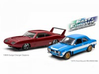 "1:43 набор DODGE Charger Daytona 1969 and  FORD Escort RS 2000 MkI 1974 ""Fast & Furious"" Drag Scene  (из к/ф ""Форсаж VI"")"