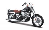 1:18 мотоцикл HARLEY DAVIDSON Dyna Street Bob 2006 Black/Brown