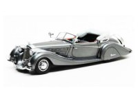 1:43 HORCH 853 Sport Cabriolet by Voll & Ruhrbeck 1938 Metallic Grey