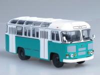 1:43 Павловский автобус 672М (бело-зелёный)