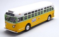 "1:43 автобус GM TDH-3610 ""ROSA PARKS"" USA 1955 Yellow/White"