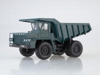 1:43 Карьерный самосвал БЕЛАЗ-540 опытный, зеленый