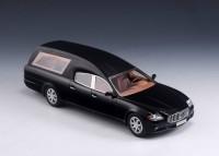 1:43 MASERATI INTERCAR Quattroporte Hearse (катафалк) 2010 Black