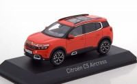 1:43 CITROEN C5 Aircross (кроссовер) 2018 Volcano Red & Silver Deco