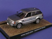 "1:43 Range Rover Sport из к.ф. ""Quantum Of Solace"" 2008 (silver)"