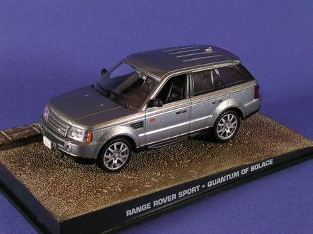 """1:43 Range Rover Sport из к.ф. """"Quantum Of Solace"""" 2008 (silver)"""