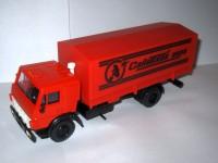 1:43 Камский грузовик-5325 бортовой с тентом Советский цирк