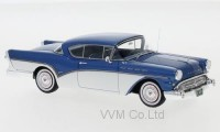 1:43 BUICK Roadmaster Hardtop Coupe 1957 Metallic Blue/White