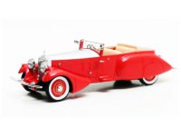 1:43 ROLLS ROYCE Phantom II Barker Boattail HRH Maharaja of Rewa #179XJ 1930 Red