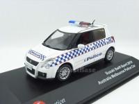 """1:43 SUZUKI SWIFT """"Melbourne Police"""" (полиция Мельбурна Австралия) 2010"""