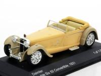 1:43 DAIMLER Double Six 50 Convertible 1931 Beige/Grey