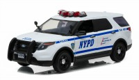 "1:18 Ford Police Interceptor Utility ""New York City Police Department"" (NYPD) 2015"