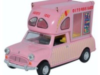 "1:43 AUSTIN Mini Pick-Up Bat Man Ice Cream ""Husky's Ices"" 1980"