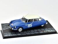 1:43 CITROEN DS21 #195 P.Toivonen/E.Mikander победитель Rally Monte-Carlo 1966
