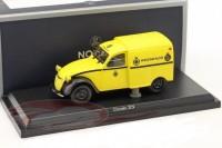 """1:43 CITROEN 2CV AZU """"Wegenwacht"""" 1959 Yellow"""