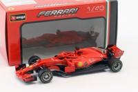1:43 FERRARI SF71-H #5 S.Vettel Formula 1 2018