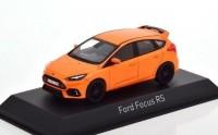 1:43 FORD Focus RS 2018 Orange Metallic
