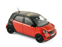 1:43 SMART Forfour (W453) 2015 Black/Red