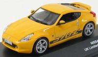1:43 NISSAN 370Z Yellow  2009