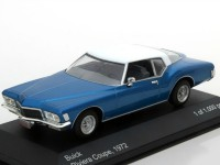 1:43 BUICK Riviera Coupe 1972 Metallic Blue/White