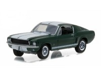 1:64 Ford Mustang 1967 Green with White Stripes