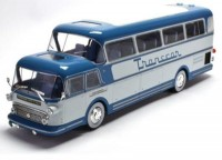 "1:43 автобус ISOBLOC 656 DH PANORAMIQUE ""Transcar "" FRANCE 1956 Blue"