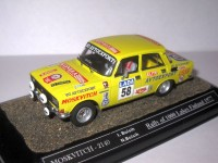 1:43 Moskvitch-2140 I. Bolshih N. Bolshih Rally of 1000 Lakes Finland 1977