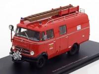 """1:43 MERCEDES-BENZ L319 Box Wagon """"Feuerwehr Luebeck""""  (пожарный) 1961"""