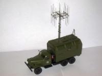 1:43 ЗиЛ-157 радиопеленгатор с антенной