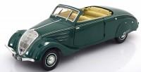 1:18 PEUGEOT 402 Eclipse (купе-кабриолет) 1937 Dark Green