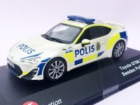 "1:43 TOYOTA GT86 TRD ""POLIS"" (полиция Швеции) 2013"