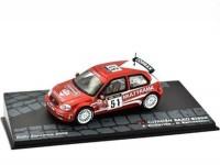1:43 CITROEN Saxo S1600 #51 A.Dallavilla/G.Bernacchini Rally Sanremo 2002