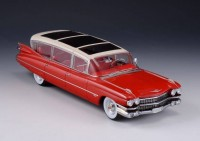 1:43 CADILLAC Broadmoor Skyview Stretch-Limousine 1959 Red